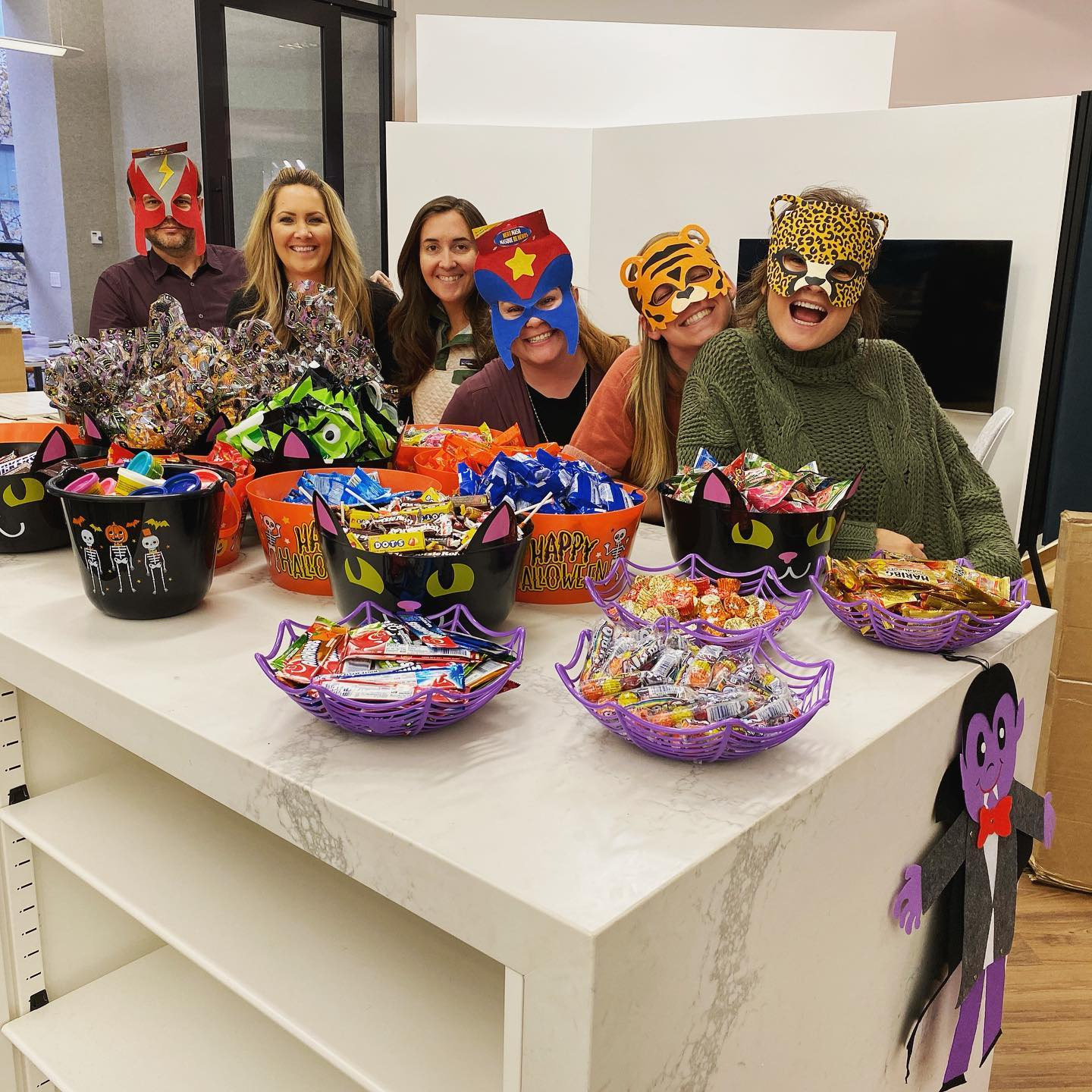 Today we're delivering Halloween trick or treat baskets and decor to @brentsplace for the kids to enjoy!  #acquilanogives #denvercharity