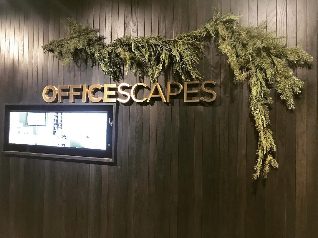 We had a great tour of the new, gorgeous @officescapesdenver showroom tonight! Thank you to both you and @steelcase for hosting us! 🏼